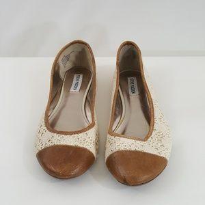 Steve Madden Womens Crochet Flats Size 9.5 M Shoes